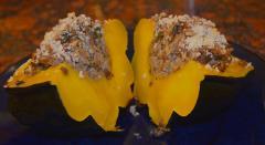 Vegetarian Stuffed Acorn Squash