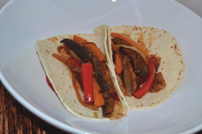 Portabella mushroom fajitas | Kelly's Recipes.com